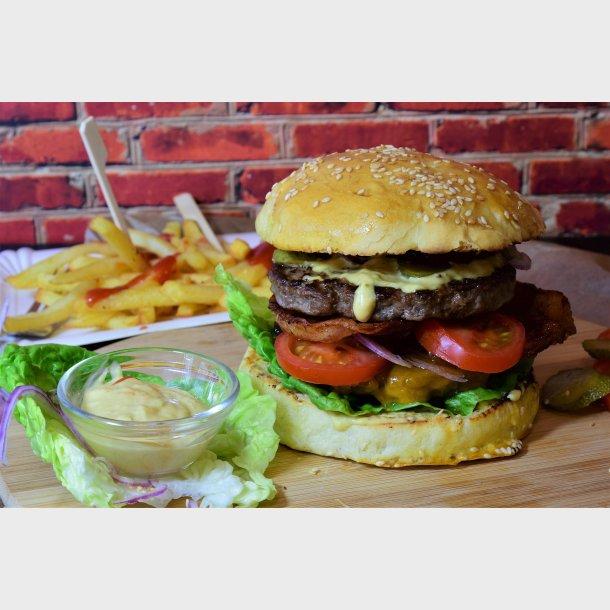 Hamburger 160 gr Pris pr kg