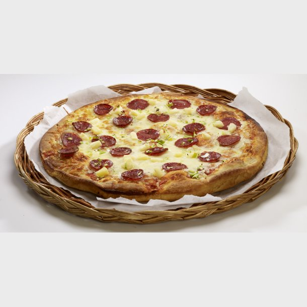 Slåtto Pizza med Pepperoni
