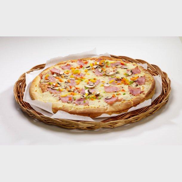 Slåtto Pizza med Skinke